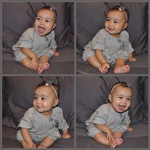 Primer cumpleaño North West, Kim Kardashian, Kanye West