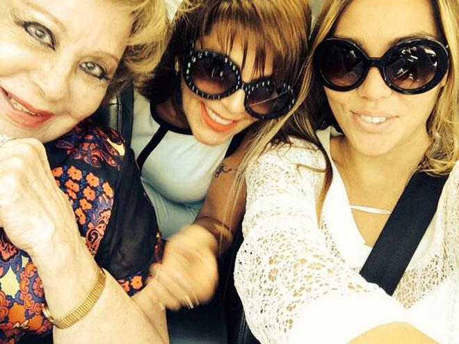 Alejandra Guzmán, Silvia Pinal, Frida Sofía
