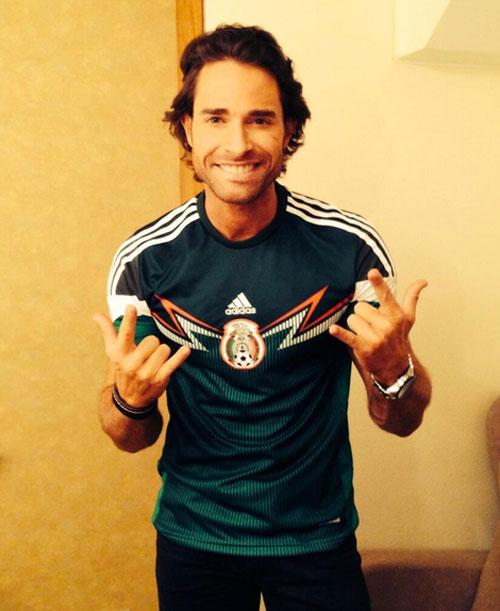 Sebastián Rulli, Famosos con el Mundial