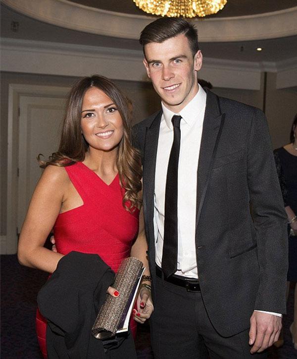 Gareth Bale, Emma Rhys-Jones, parejas futbolistas