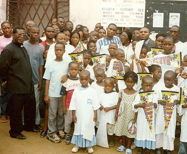 Samuel Eto'o, futbolistas solidarios