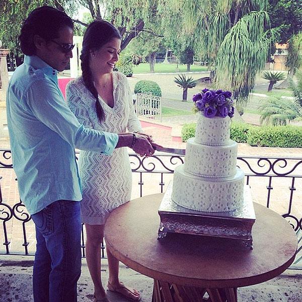 Ana Patricia, Luis Carlos Martínez, boda