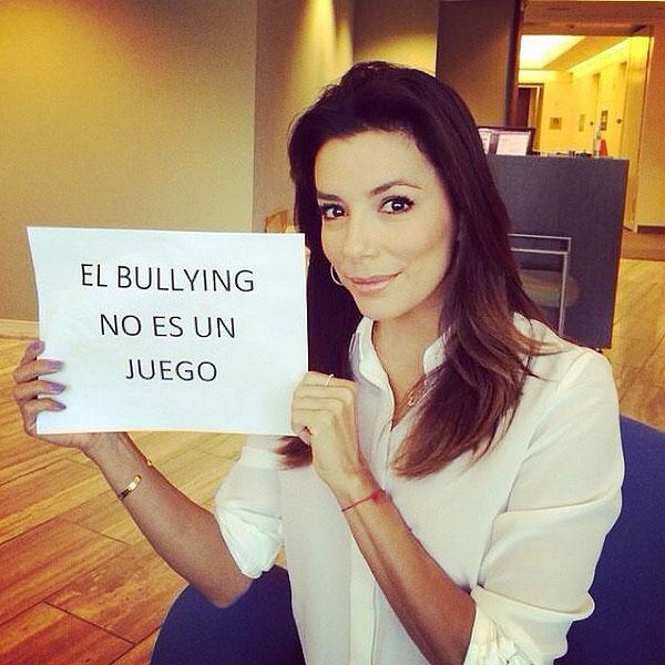 Eva Longoria, bullying