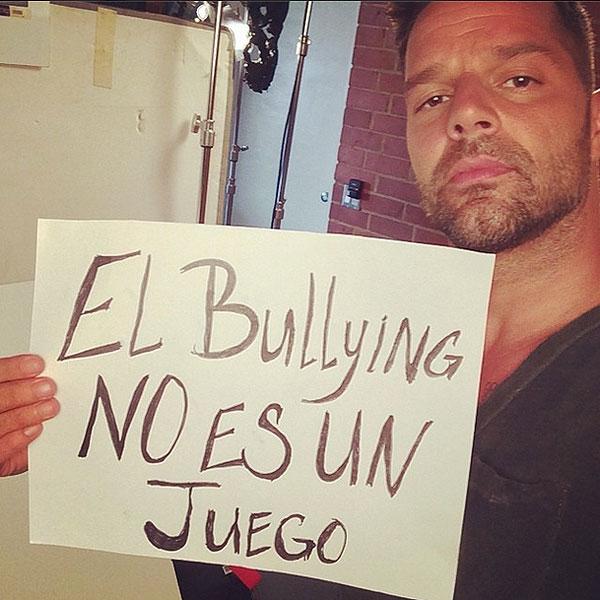 Ricky Martin, bullying