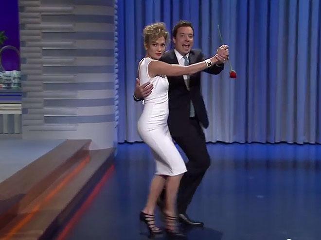 Jennifer López y Jimmy Fallon