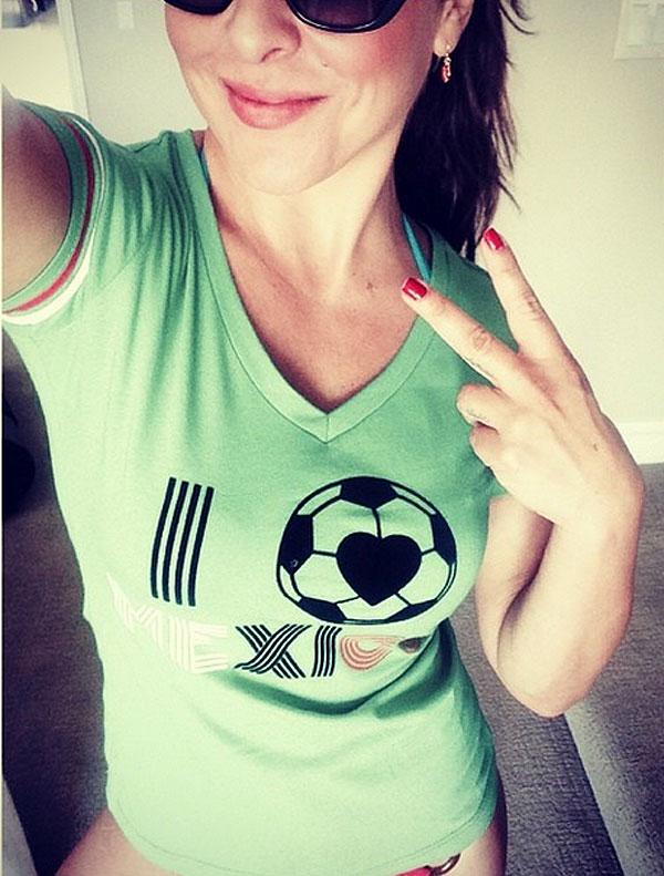 Kate del Castillo, Famosos con el Mundial