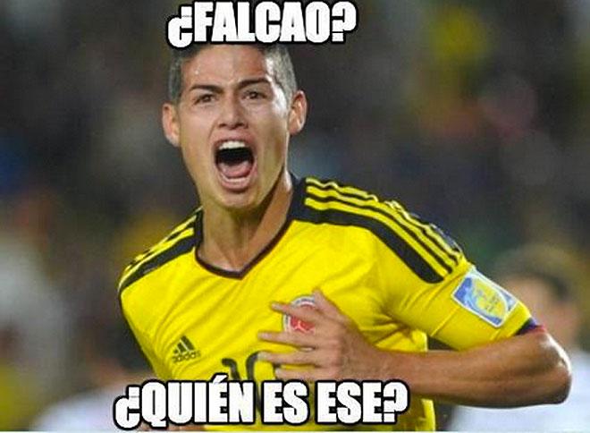 James Rodríguez, Memes