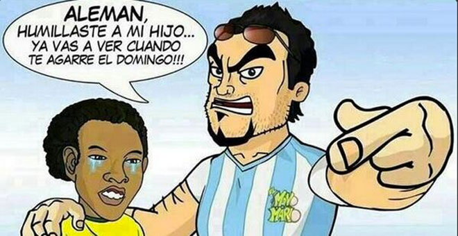 FINAL ARGENTINA - ALEMANIA