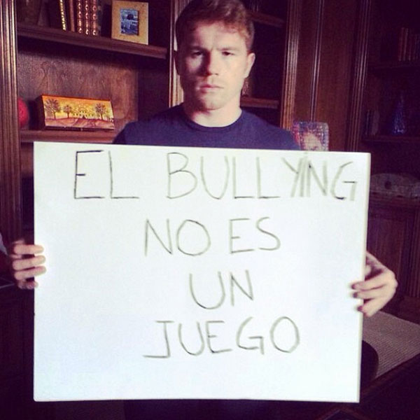 "Saúl ""Canelo"" Álvarez, bullying"