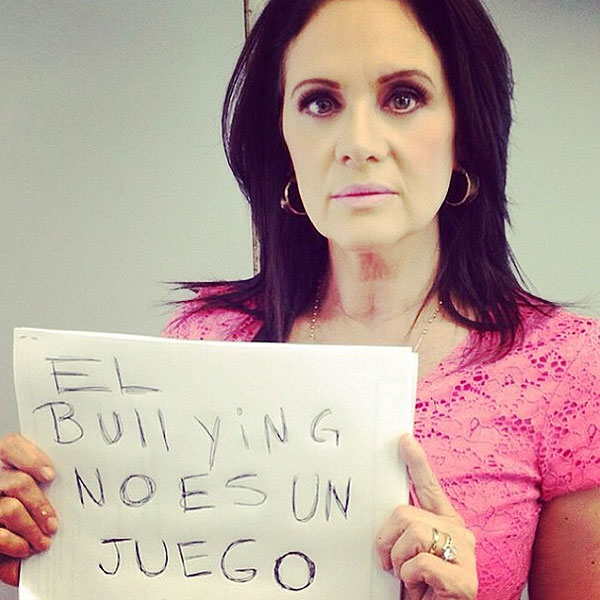 Erika Buenfil, bullying