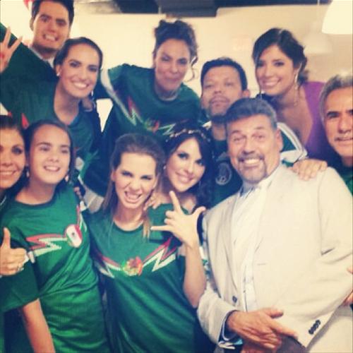 Famosos con el Mundial Brasil 2014, VANESSA VILLELA