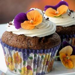 Cupcakes de chocolate y calabacita