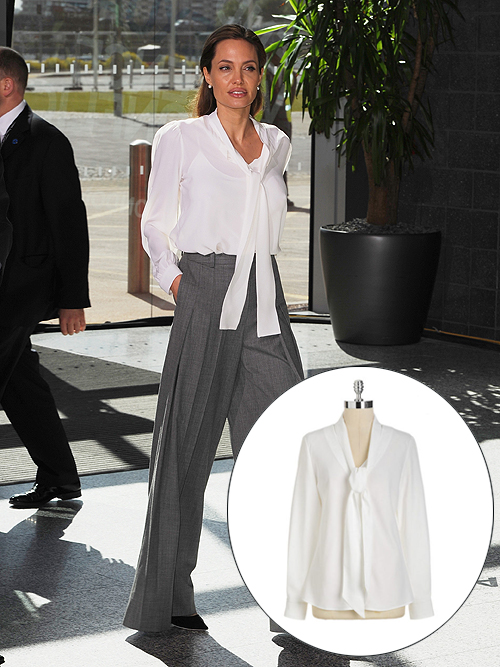 El look por menos, Angelina Jolie