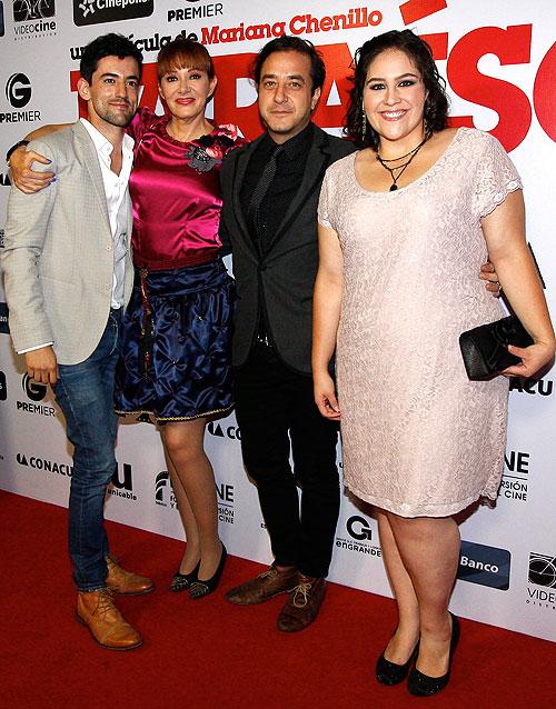 Luis Gerardo Méndez, Anabel Ferreira, Andrés Almeida, Daniela Rincón, Míralos