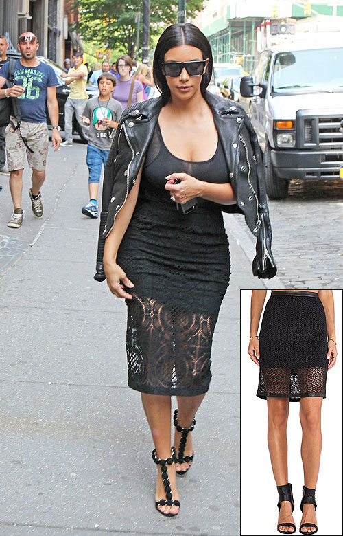 El look por menos, Kim Kardashian