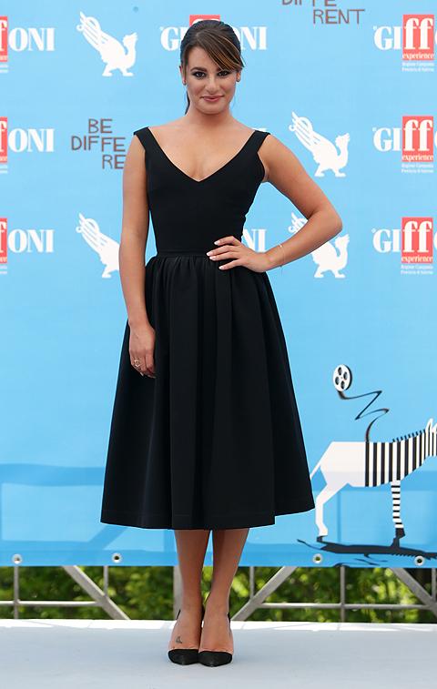 El llok del día, Lea Michele
