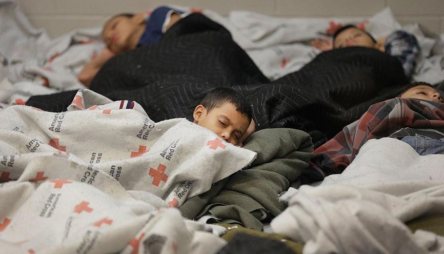 Crisis de niños migrantes