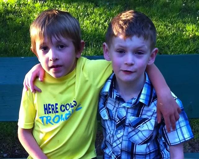 Quinn y Brayden