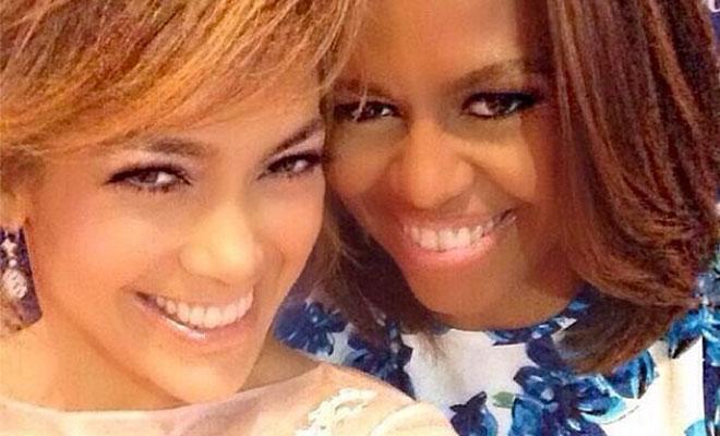 Jennifer López y Michelle Obama