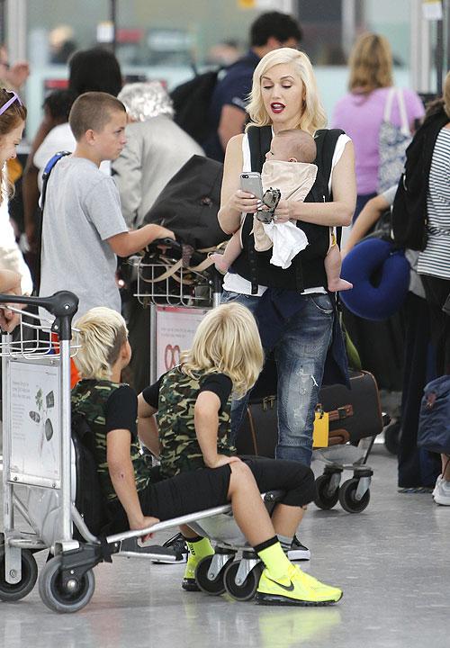 Gwen Stefani, Zuma, Kingston, Apollo, Míralos