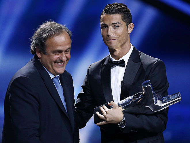 Michel Platini, Cristiano Ronaldo, Míralos