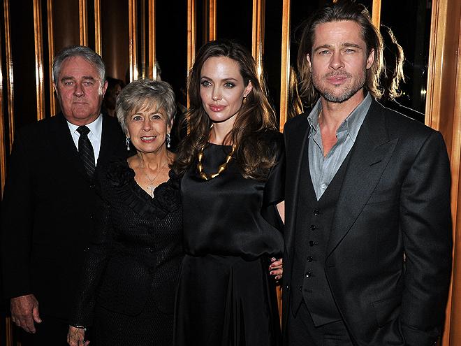 Angelina Jolie, Brad Pitt, Bill Pitt, Jane Pitt