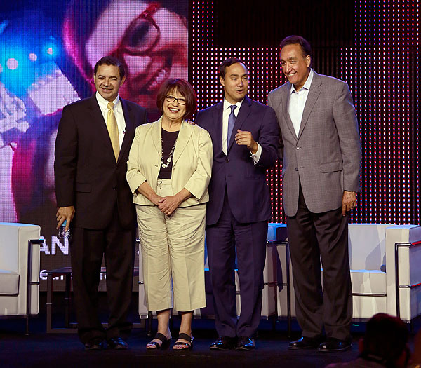 Festival People 2014, Jessie Degollado, Joaquin Castro, Henry Cisneros