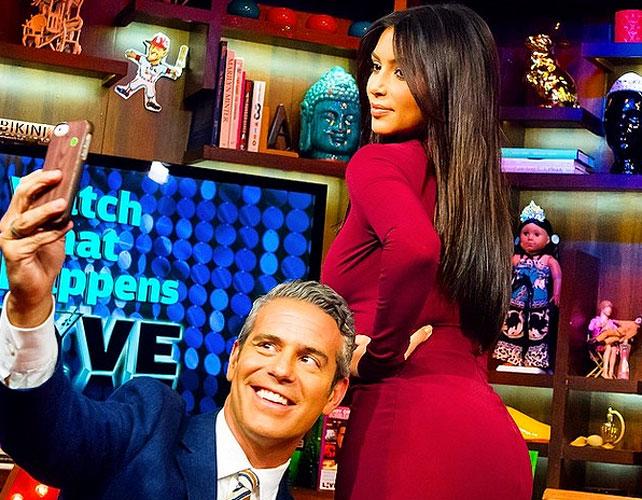 Andy Cohen Kim Kardashian para articulo