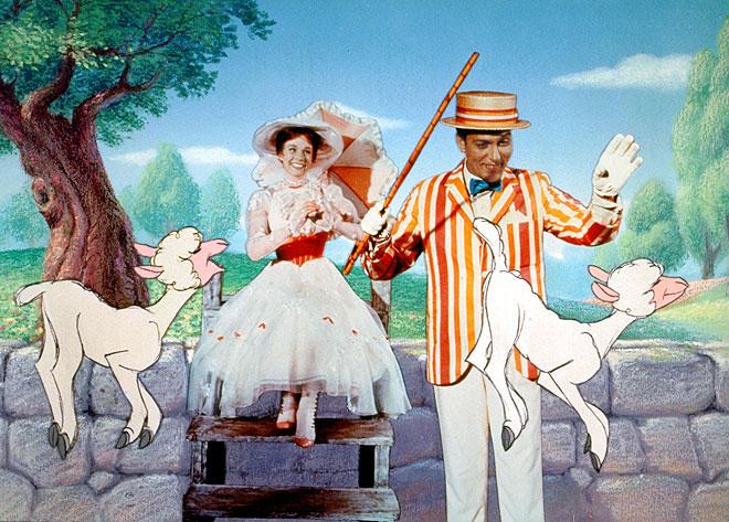 Julie Andrews, Dick Van Dyke, Mary Poppins