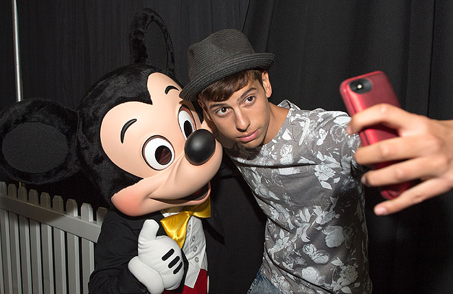 MATT HUNTER CORREA Mickey MouseFestival People