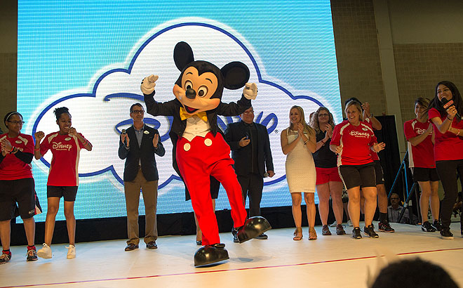 Mickey Mouse, Festival People 2014