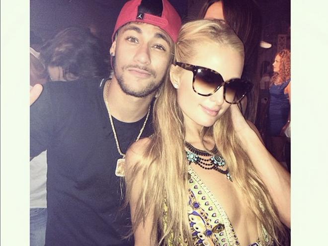 Paris Hilton y Neymar