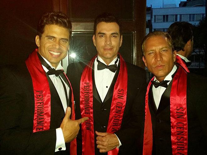 Pedro Moreno, David Zepeda, Salvador Cerboni, Míralos