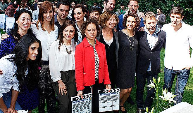 Bárbara de Regil, Carmen Delgado, Fran Meric, Patricia Bernal, Juan Manuel Bernal, Verónica Merchant, Míralos