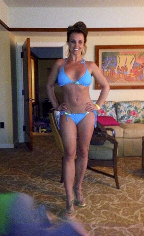 Britney Spears, bikinazo