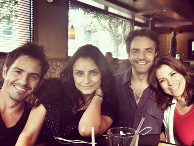 Mauricio Ochman, Aislinn Derbez, Eugenio Derbez, Alessandra Rosaldo
