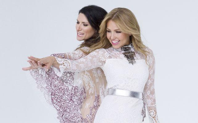 Thalia y Laura Pausini para articulo