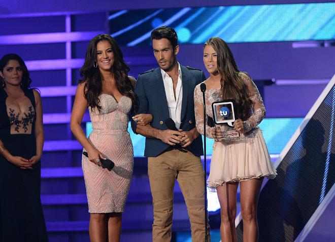 Premios Tu Mundo, El show en imágenes, Gaby Espino, Aarón Díaz, Ximena Duque