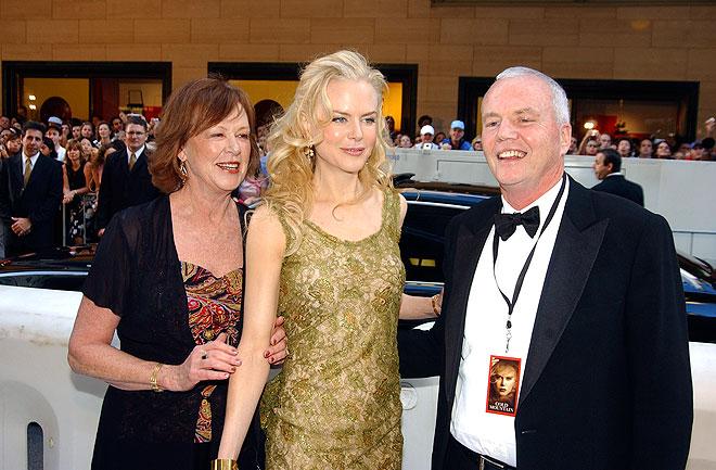 Nicole Kidman, Antony Kidman, Janelle Kidman