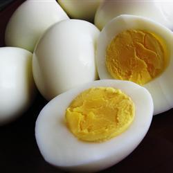 Huevos cocidos a la perfección
