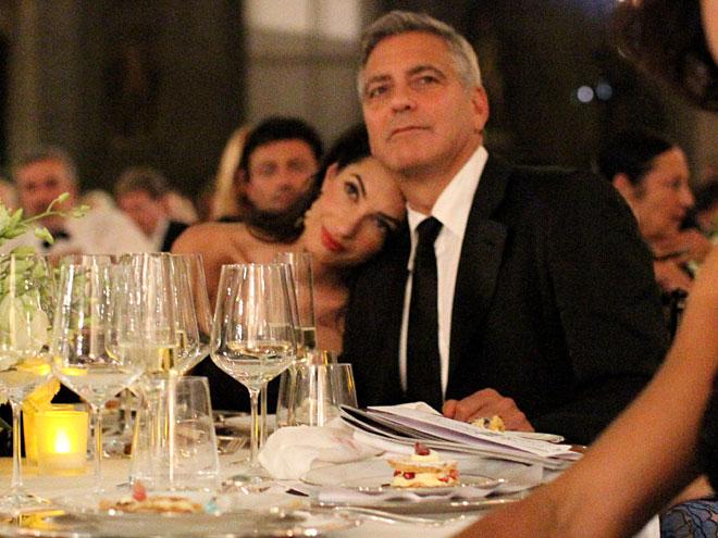 Amal Alamuddin, George Clooney,