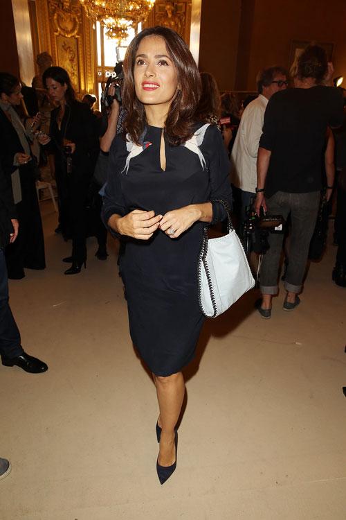 Salma Hayek, El look del día