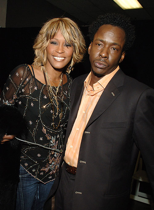 Whitney Houston, Bobby Brown, Golpeadas