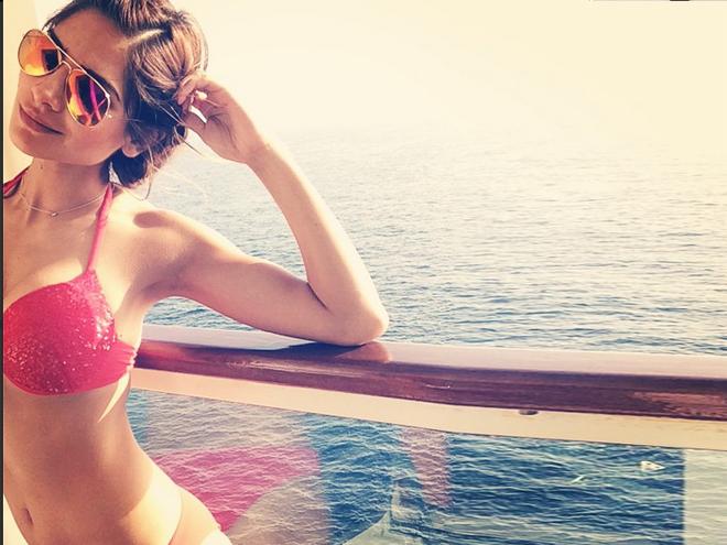 Alejandra Espinoza bikini