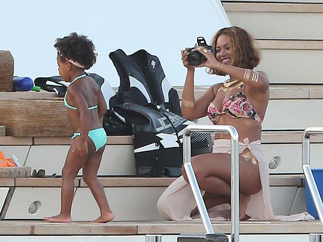 Beyoncé, Blue Ivy, Míralos
