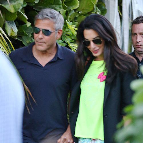 George Clooney, Amal Alamuddin,
