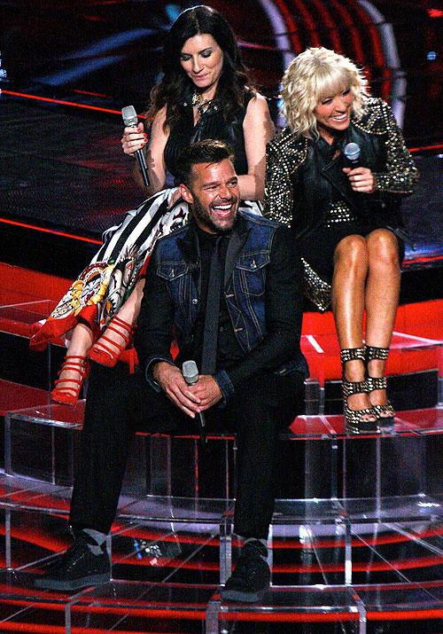 Laura Pausini, Ricky Martin, Yuri, Míralos