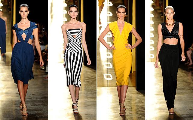 Fashion week, Cushnie et ochs, Desfile