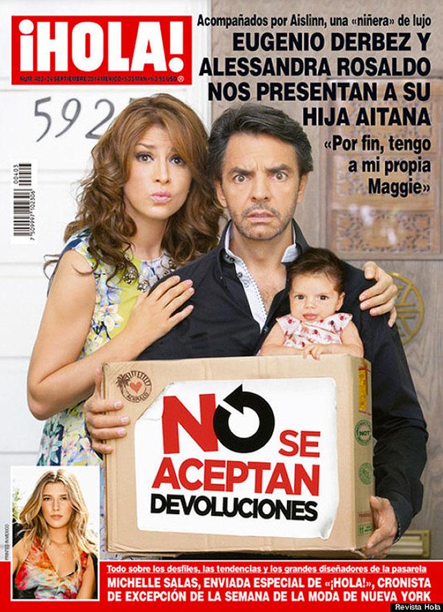 Eugenio Derbez portada de Hola para articulo