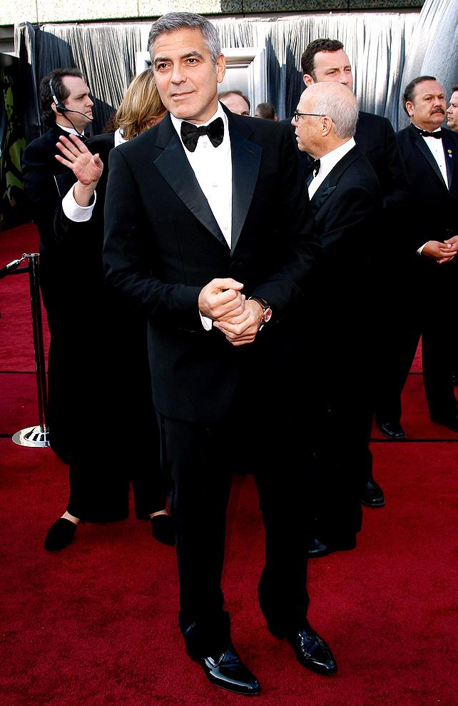 George Clooney, boda, Giorgio Armani, alfombra roja